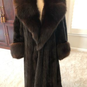 Jackets & Blazers - Mink coat with Fox